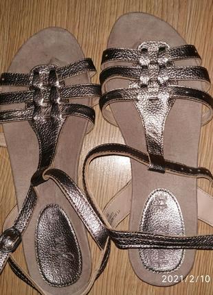 Босоножки Footglove кожаные 39,5 размер.