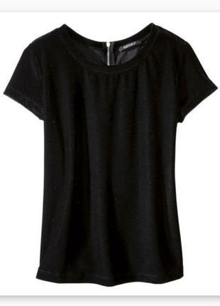 Бархатный, велюровый топ, футболка esmara