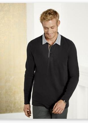 Свитер рубашка поло, футболка с длинным рукавом livergy