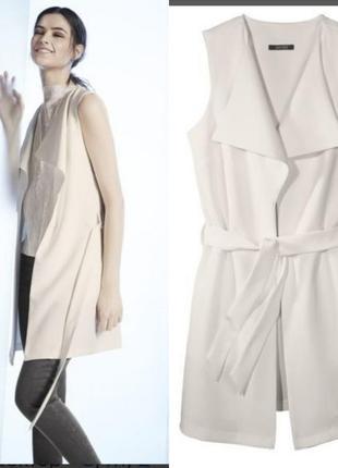 Шикарный пиджак, жакет без рукавов, жилет esmara
