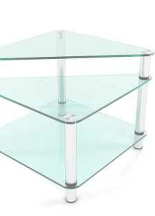 Журнальный стеклянный стол