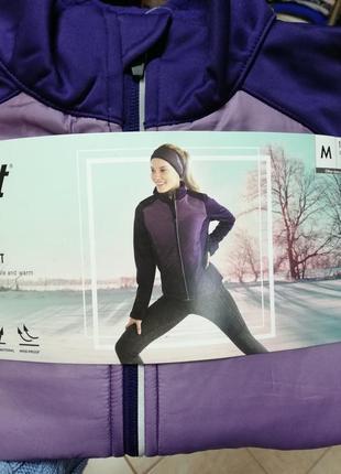 Женская спортивная куртка софтшелл crivit