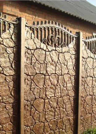 Пропаренный бетонный забор (Еврозабор), от Производителя !