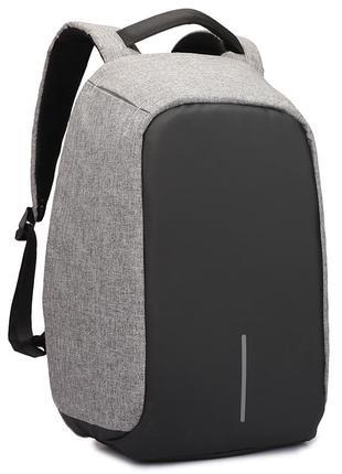 Рюкзак для ноутбука городской, спортивный антивор с usb выходо...