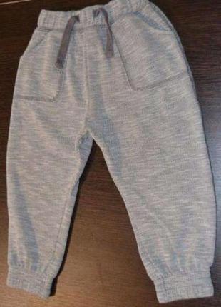 Спортивные штаны на мальчика 18-24 месяцев, 1-2 года