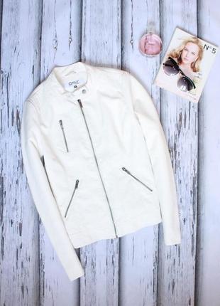 Куртка кожанка only размер 36 (s)