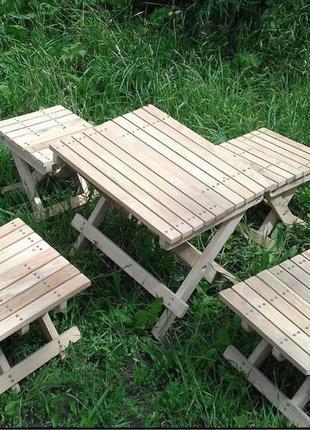 Деревянные изделия, раскладные стул и стулья из дуба