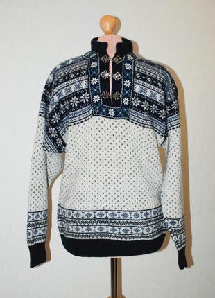 Шерстяной свитер в стиле вышиванки мужской вышиванка мужская