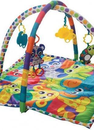 Развивающейся Детский коврик «друзья звери»