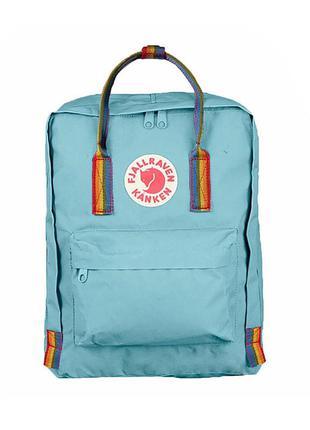 Рюкзак женский kanken rainbow 16l | рюкзак жіночий портфель...
