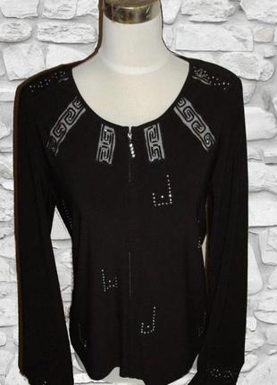 🌼🌹красивая нарядная блузка кофточка женская черная🌼🌹🌼
