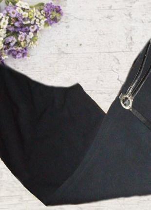 🌾🌾бриджи женские черные высокая посадка с украшением 🌾🌾🌾