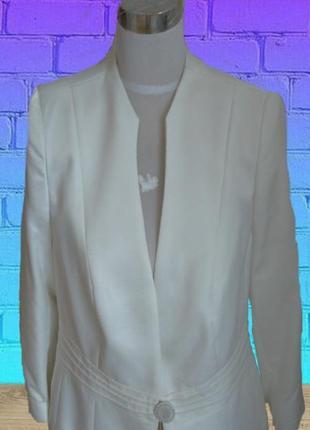 🌹🌹нарядный женский пиджак цвета шампань 3/4 рукав dolly польша...