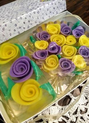 """Набор мыла """"Розы"""""""