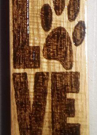 Картина ручной работы Love (любовь)