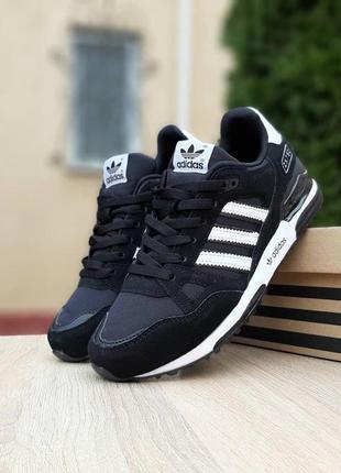 Adidas zx 750🆕мужские кроссовки🆕черные замшевые шикарные адида...