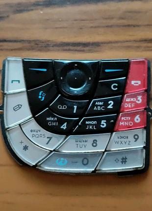 Клавиатура (кнопки) Nokia 7610 Black-оригинал!