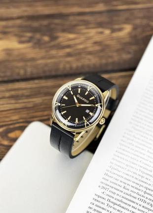 Мужские часы guardo 012651 чёрно золотые