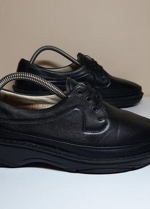 Кожаные ботинки,туфли berkemann (беркермен )
