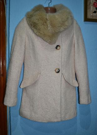 Пальто букле,р.S/M
