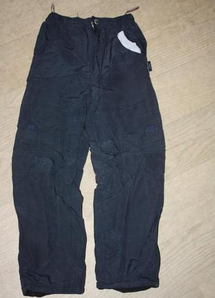 Зимние термо-брюки для девочки или мальчика ф.h&m р-128 отличное
