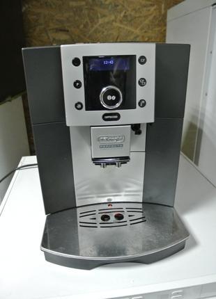 Кофемашина Delonghi Perfecta Cappuccino Carbon кофеварка