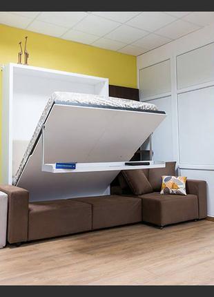 Кровать-трансформер-шкаф, мебель на заказ