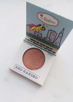 The balm тени для век red-handed 1,2g