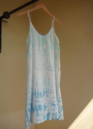 Легкий белый сарафан papaya 100 % вискоза  платье на бретелях ...