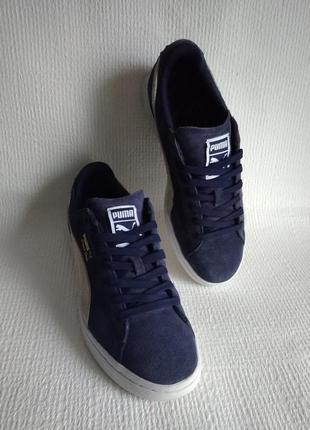 Puma оригинальные кожаные кроссовки 41