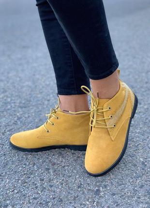 Демисезонные ботинки хайтопы