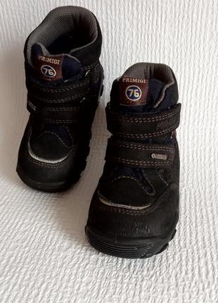 Primigi кожаные оригинальные ботинки 21