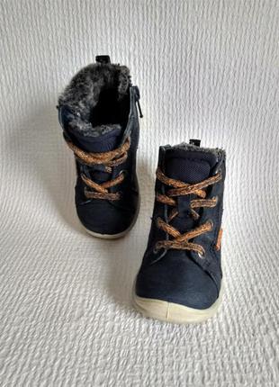 Ecco оригинальные кожаные ботинки 21
