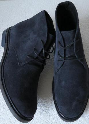 Мужские демисезонные туфли дезерты desert boot ботинки натурал...