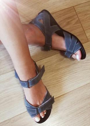Натуральная замша сандалии босоножки спортивные женские качест...