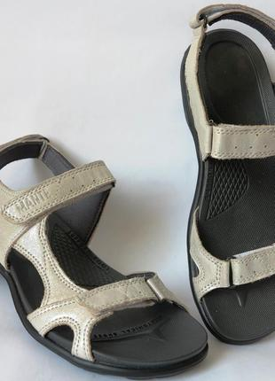 Натуральная кожа женские летние сандалии босоножки без каблука...