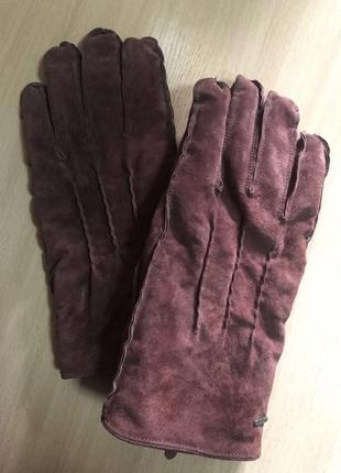 Замшевые перчатки 🧤 scotch & soda