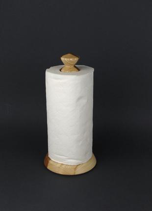 Держатель бумажных полотенец из дерева