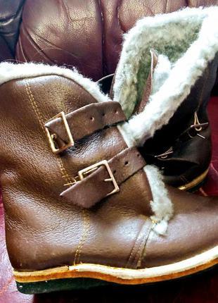 Полусапожки ботинки сапоги зимние детские