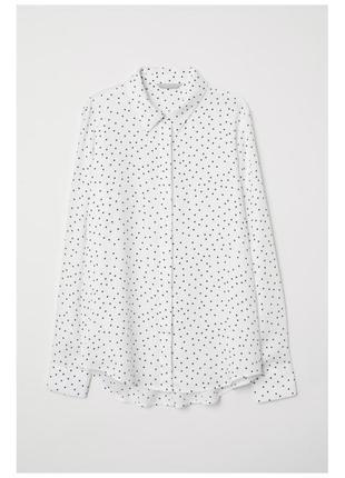 Блузка в мелкий горох