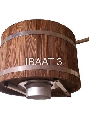 Ведро водопад IBAAT 3 для бани и сауны