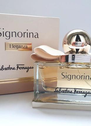 Salvatore ferragamo signorina eleganza парфюмированная вода