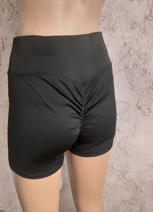 Шортики высокие шорты для тренировок танцев рр м 44-46 примерн...