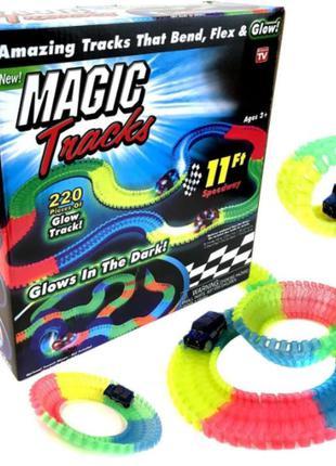 Автомобільний гоночний трек magic tracks 220 деталей