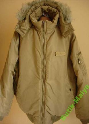 "Теплая куртка под аляску  ""crossball""   52-54 р"