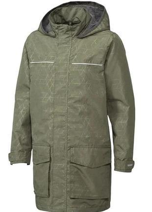 Куртка, детская, для мальчика, водонепроницаемая, дождевик, ха...