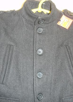 """Шерстяное стильное пальто - парка  """"look"""" 2-года германия"""