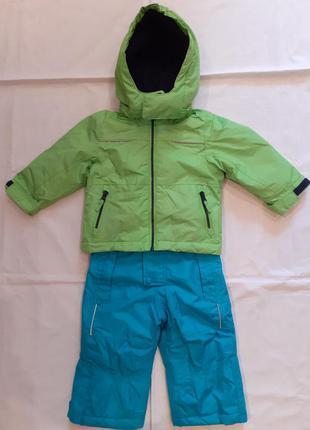 Лыжный термо-комплект - куртка и полукомбинезон для мальчика