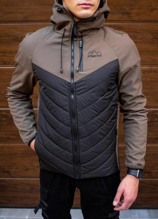 "Куртка pobedov jacket ""soft shell combi v2"" (вк(р)00131) чорно..."