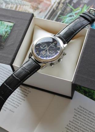 Мужские наручные часы patek philippe черные